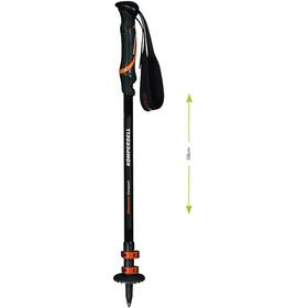 Komperdell Hikemaster Compact Powerlock Bâtons, black/orange